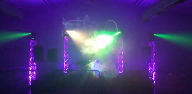 University of Houston Rave Party